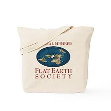 Flat Earth Society - Tote Bag