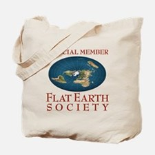 Flat Earth Society - Tote Bag