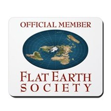 Flat Earth Society - Mousepad