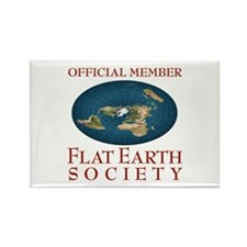 Flat Earth Society - Rectangle Magnet