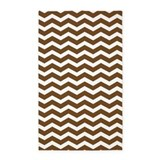 Brown and white chevron 3x5 Rugs