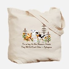 I Love Vegetarians Tote Bag