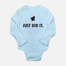 Shitting Long Sleeve Infant Bodysuit