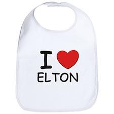 I love Elton Bib