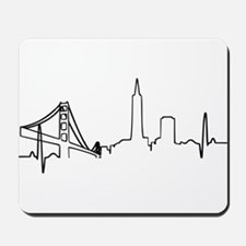 San Francisco Heartbeat Mousepad