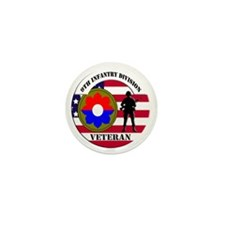 9th Infantry Division Mini Button (10 pack)