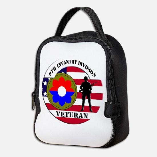 9th Infantry Division Neoprene Lunch Bag