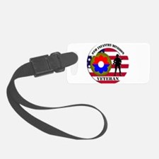 9th Infantry Division Luggage Tag
