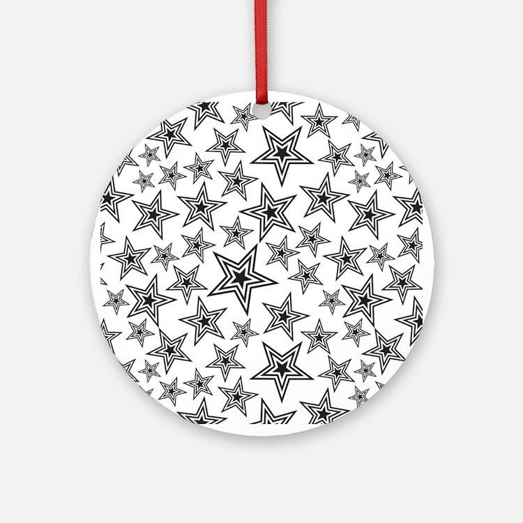 Triple Star Paulie D Ornament (Round)