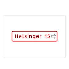 Roadmarker, Helsingor - Denmark Postcards (Packag