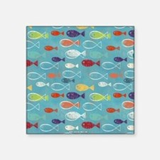 Cute Summer Beach Fish Sticker