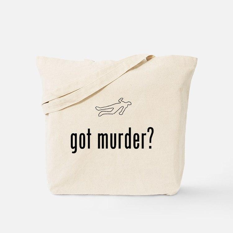 Crime Scene Tote Bag