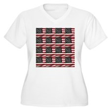 America Plus Size T-Shirt