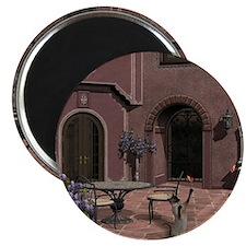 Quiet Courtyard Magnet