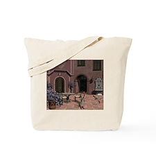 Quiet Courtyard Tote Bag