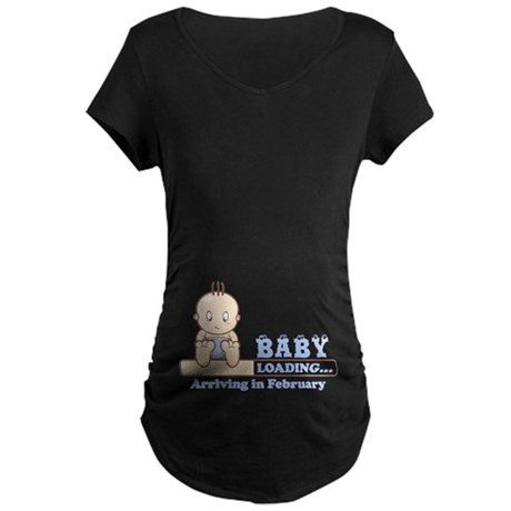 Arriving in February Maternity T-Shirt