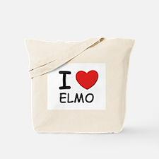 I love Elmo Tote Bag