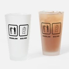 Head Up A** Drinking Glass