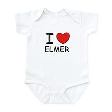 I love Elmer Infant Bodysuit