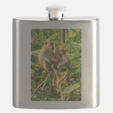 Togetherness on a Branch Flask