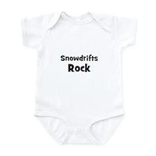 Snowdrifts Rock Infant Bodysuit
