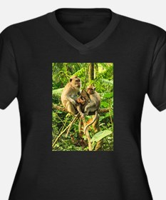Togetherness on a Branch Plus Size T-Shirt