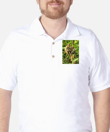 Togetherness on a Branch Golf Shirt
