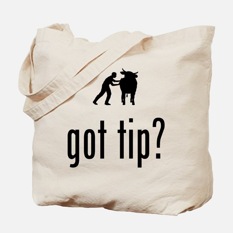 Cow Tipping Tote Bag