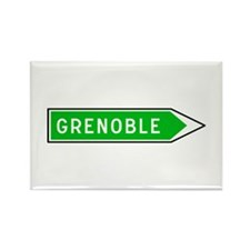 Roadmarker Grenoble - France Rectangle Magnet