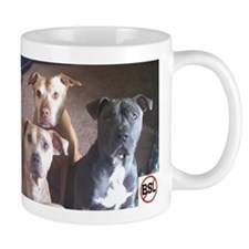 Pitbull Judgement Small Mugs