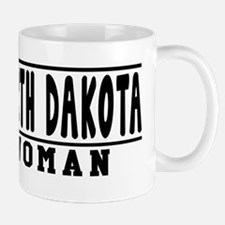 North Dakota Woman Designs Mug