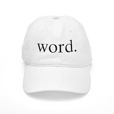 Word. Baseball Cap