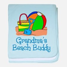 Grandmas Beach Buddy baby blanket