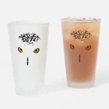 Snowy Owl Drinking Glass