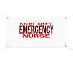 NS EMERGENCY NURSE Banner
