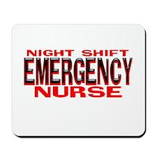 NS EMERGENCY NURSE Mousepad
