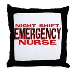 NS EMERGENCY NURSE Throw Pillow