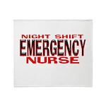 NS EMERGENCY NURSE Throw Blanket