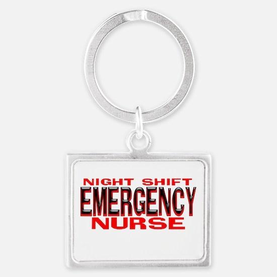 NS EMERGENCY NURSE Keychains