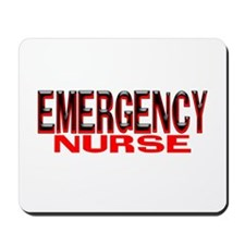 EMERGENCY NURSE Mousepad