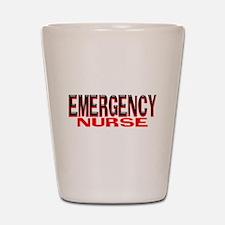 EMERGENCY NURSE Shot Glass