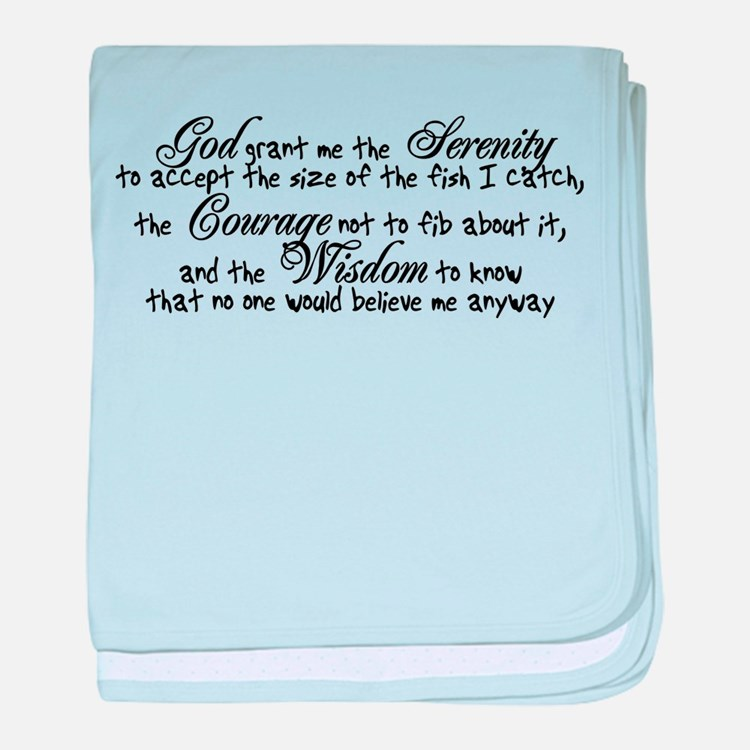 Fisherman's Prayer Infant Blanket