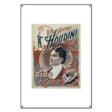 Houdini King of Cards Banner
