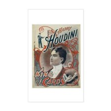 Houdini King of Cards Decal