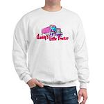 Daddy's Little Trucker Sweatshirt