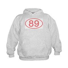 Number 89 Oval Hoodie