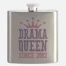 Drama Queen Since 2007 Flask