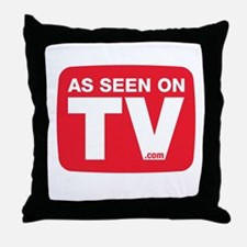 As Seen On TV Throw Pillow