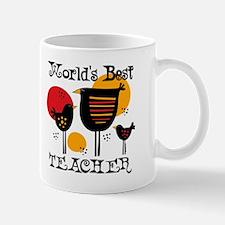 Chickens World's Best Teacher Mug