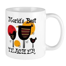 Chickens World's Best Teacher Mug